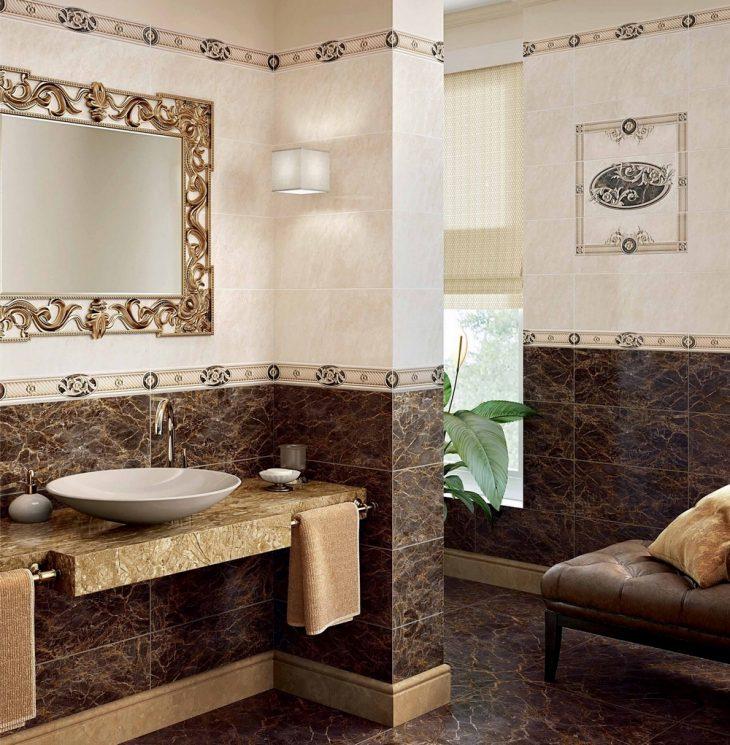 Кафельная плитка для ванны 45 фото - модный дизайн плитки в ванную