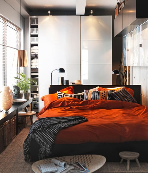 оформление маленькой спальни фото