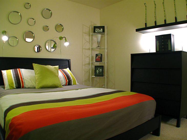 современные маленькие спальни