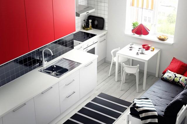 красный цвет дизайн интерьера