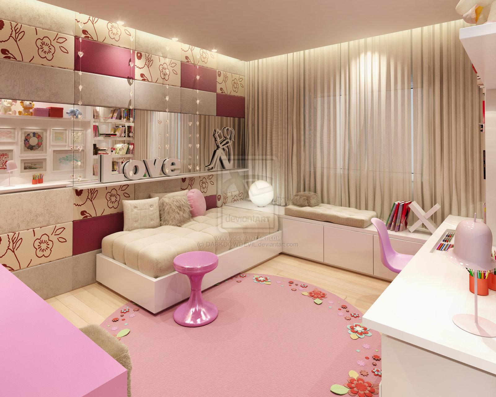 Как сделать комнату для подростка девочки