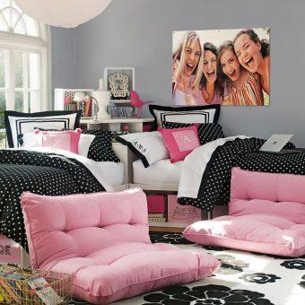 Спальня для подростка. 40 фото дизайна интерьера для подростка