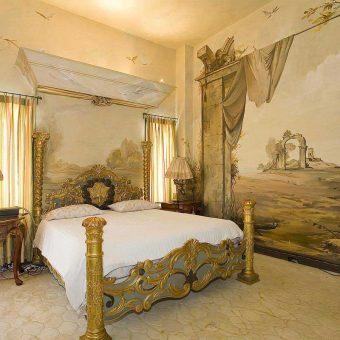Художественная роспись стен — 35 фото идей интерьера