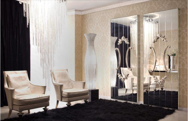 зеркала в интерьере квартиры