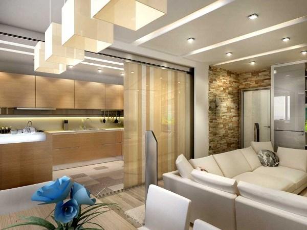 дизайн комнаты зонирование