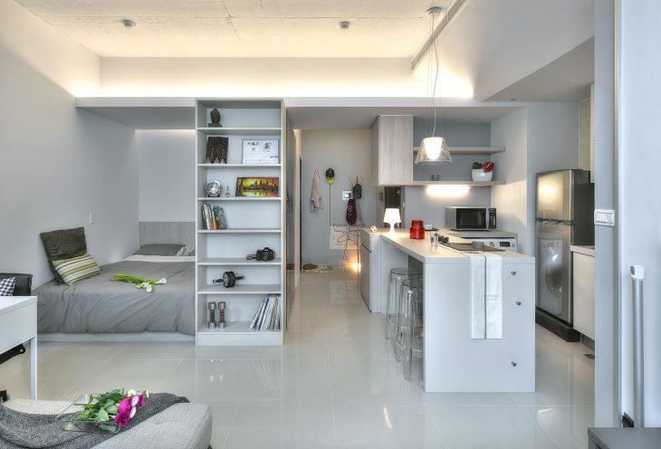 дизайн интерьера квартиры студии 2019 фото новинки