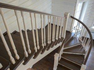 Поворотные лестницы и их виды