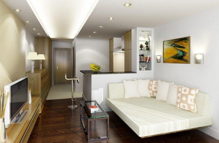 стили дизайна в интерьере однокомнатной квартиры