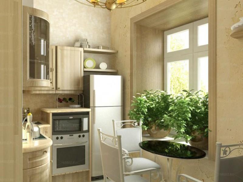 Как сделать кухню в хрущёвке фото 397
