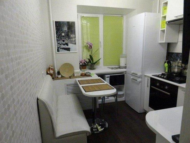 интерьер кухни в хрущевке фото
