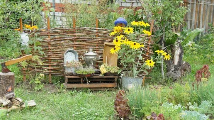 Несколько полезных советов по созданию растительного мира сада в стиле кантри