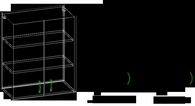 Навесной шкаф чертежи и схемы