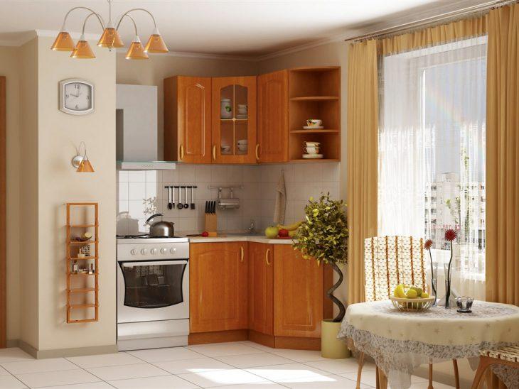 как повесить шкафчики на кухне