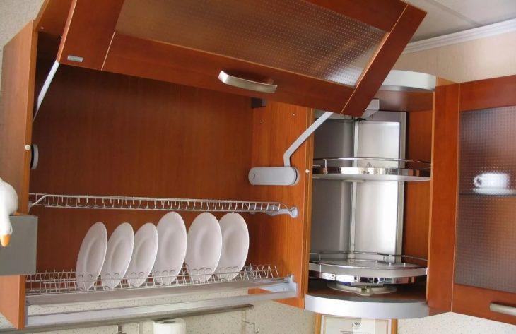 подвесной шкафчик для кухни