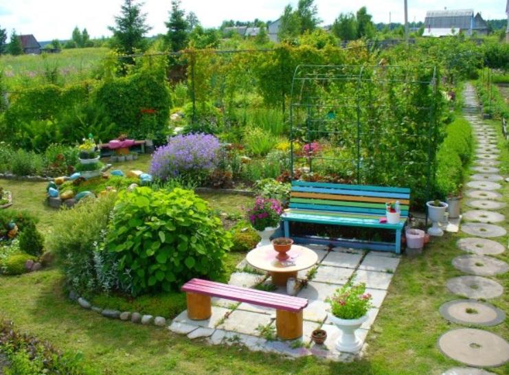 Красиво сделать сад своими руками