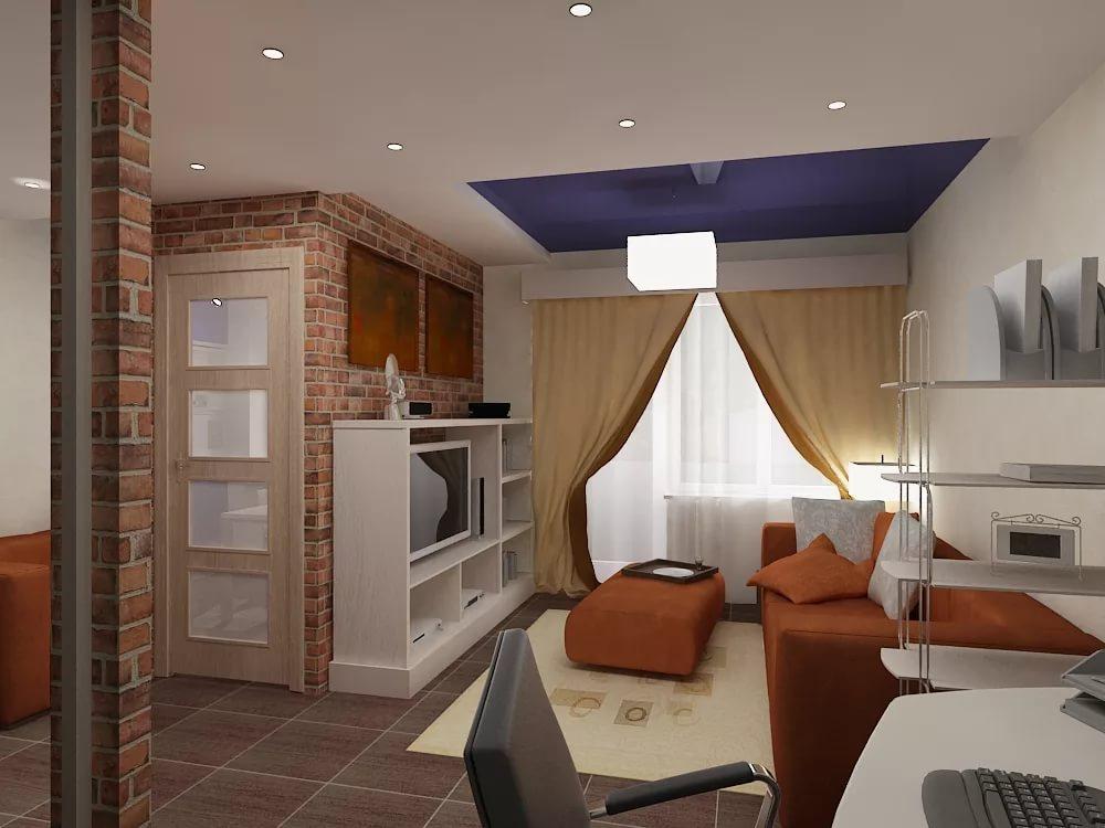Фото дизайн хрущевки 1 комнатной квартиры
