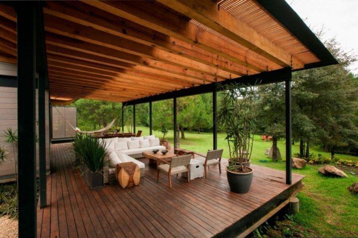 дизайн террасы в загородном доме фото