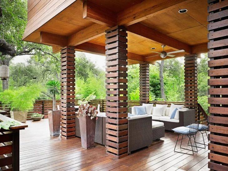 дизайн деревянных террас