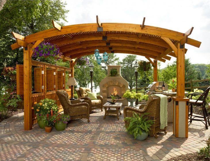 Пергола в ландшафтном дизайне 55 фото идей для дачи или сада