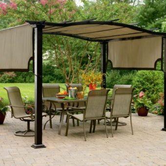 Дизайн перголы в ландшафтном дизайне — для дачи или сада