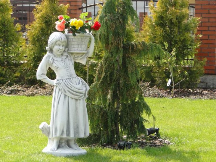 декоративные скульптуры для сада