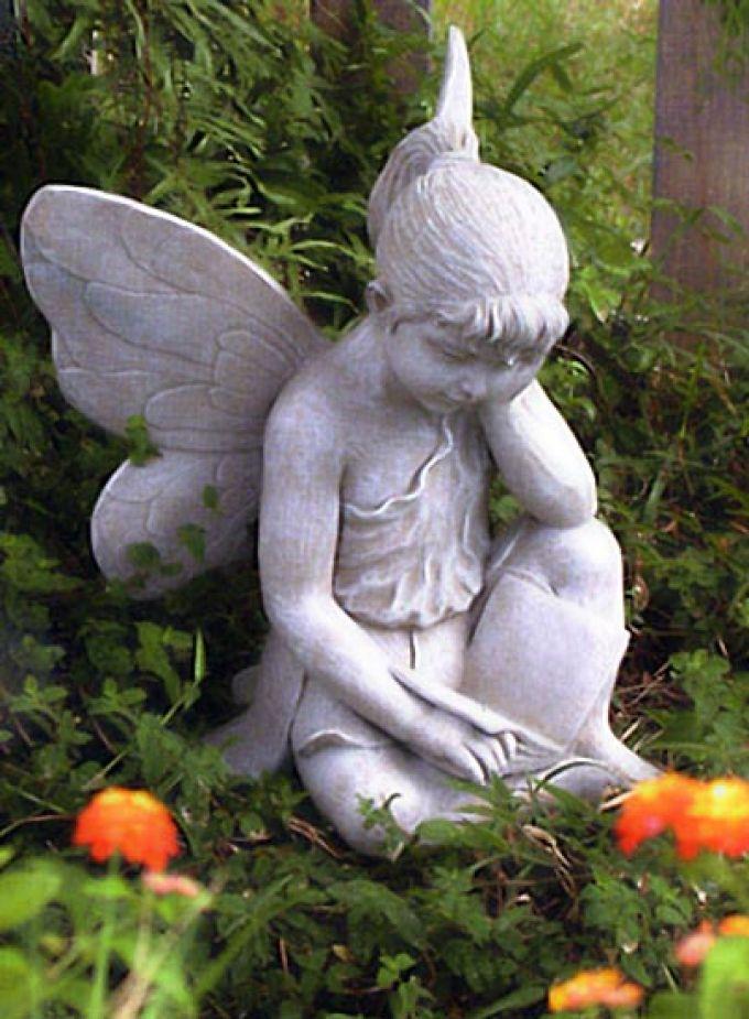 скульптуры из цемента для сада
