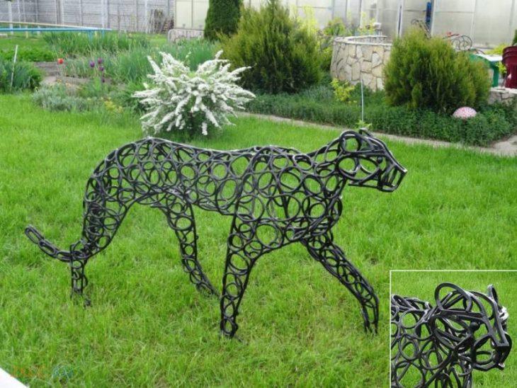 Декоративные скульптуры для сада - 55 фото