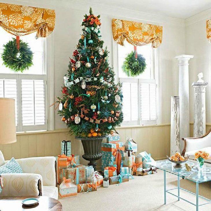 украсить квартиру к новому году своими руками