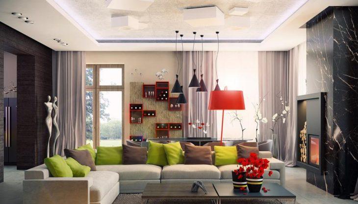 дизайн гостиной комнаты фото 2019 современные идеи