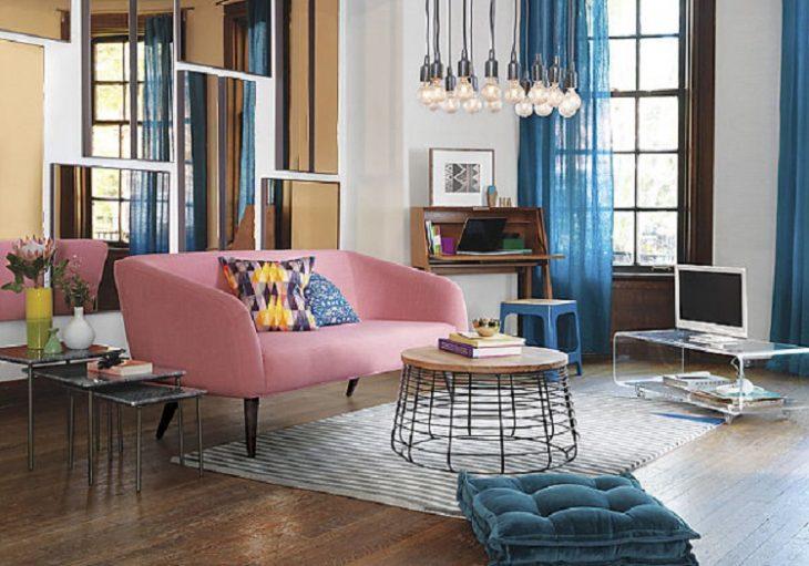 современный дизайн гостиной 2019