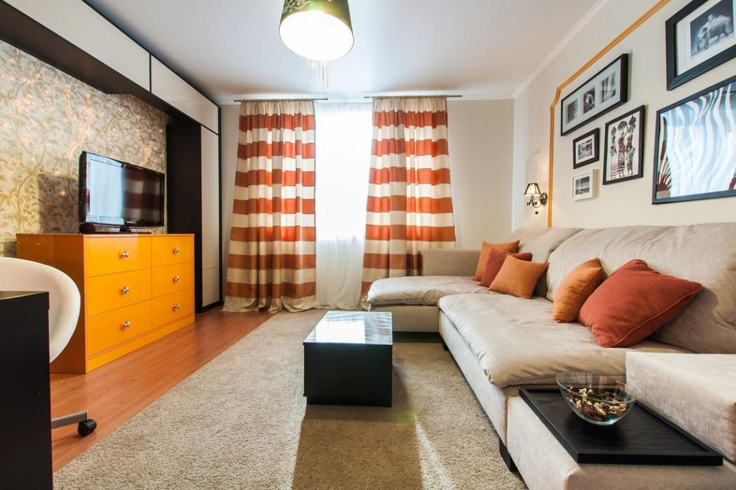 Дизайн гостиной в маленькой квартире 2018 современные идеи