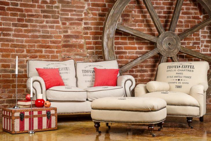 мягкая мебель в интерьере фото