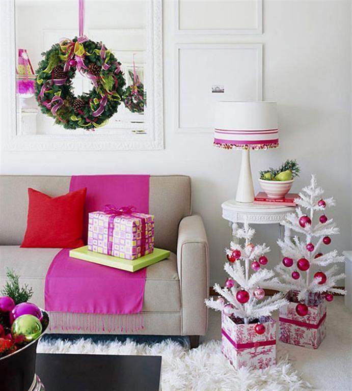 идеи как украсить квартиру к новому году
