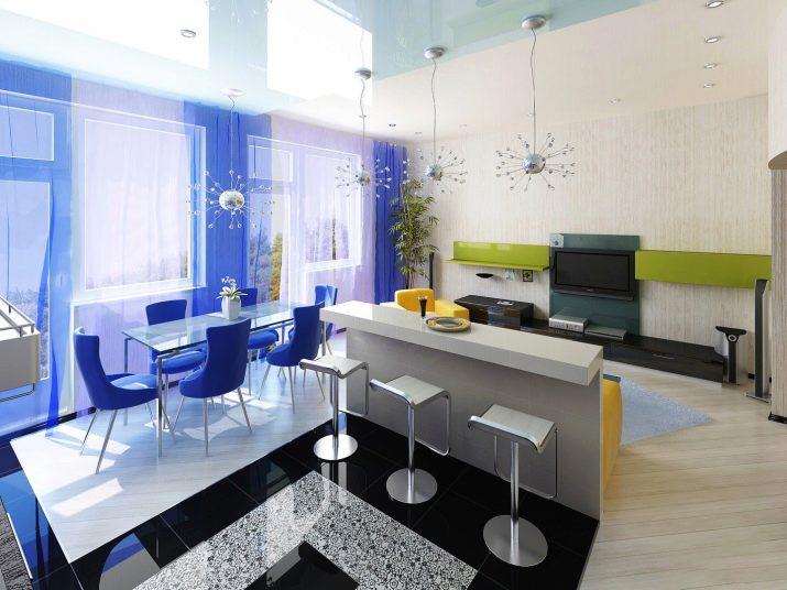 модный дизайн гостиной 2019