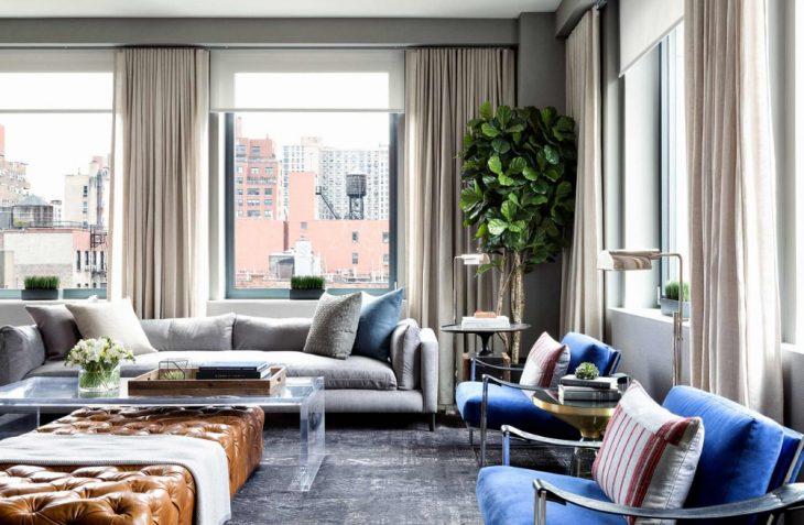 новый дизайн гостиной 2019
