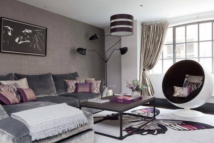дизайн гостиной 2019 в квартире