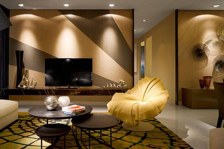 современный интерьер квартиры в светлых тонах