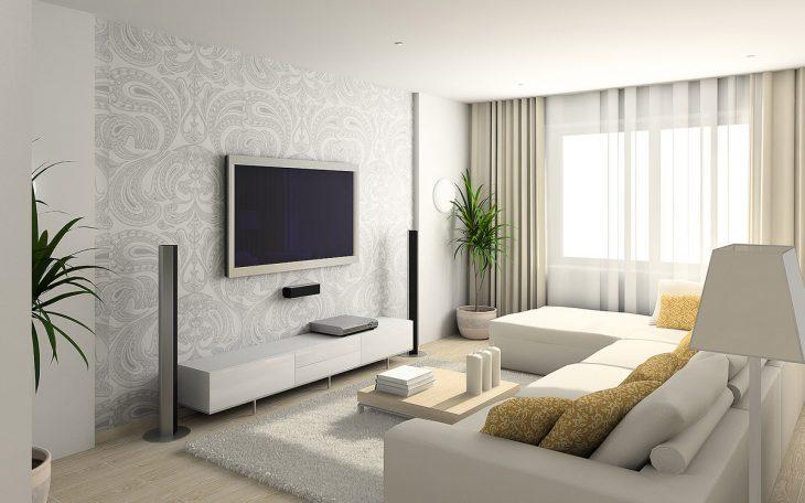 современные идеи интерьера маленькой однокомнатной квартиры