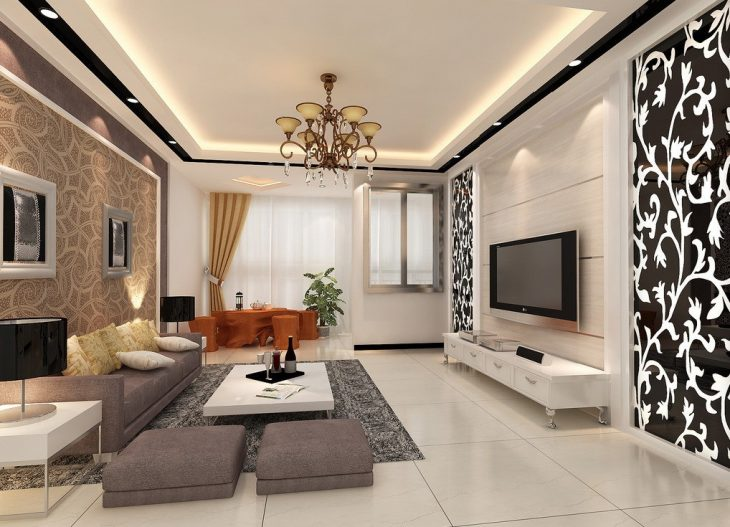 интерьер маленькой квартиры 2018 современные идеи