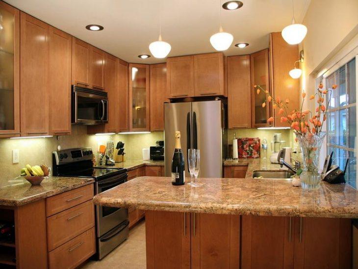 Интерьер кухни в квартире - 75 фото лучшего дизайна