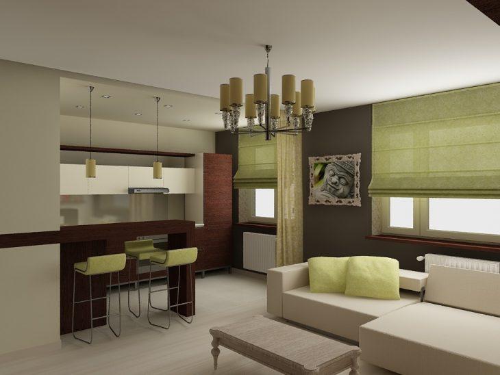 современный дизайн интерьера квартиры 2018