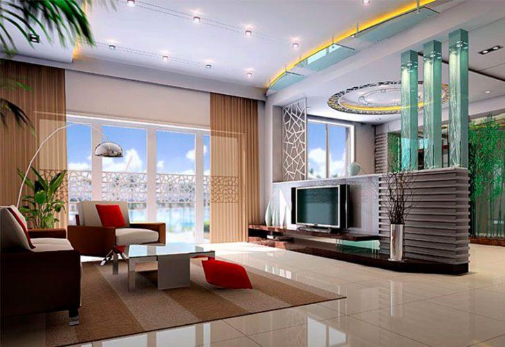 Интерьер гостиной современные идеи - 65 реальных фото