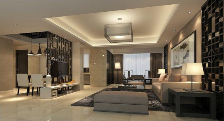 Contemporary new home interior design