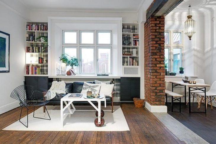 Cкандинавский стиль в интерьере квартиры 75 фото идей
