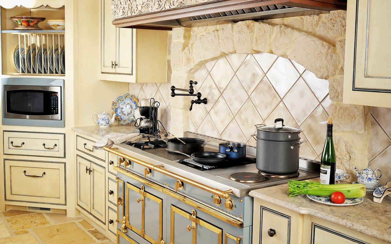 Фото красивые интерьеры кухни
