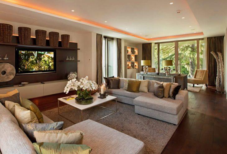 интерьер гостиной современные идеи
