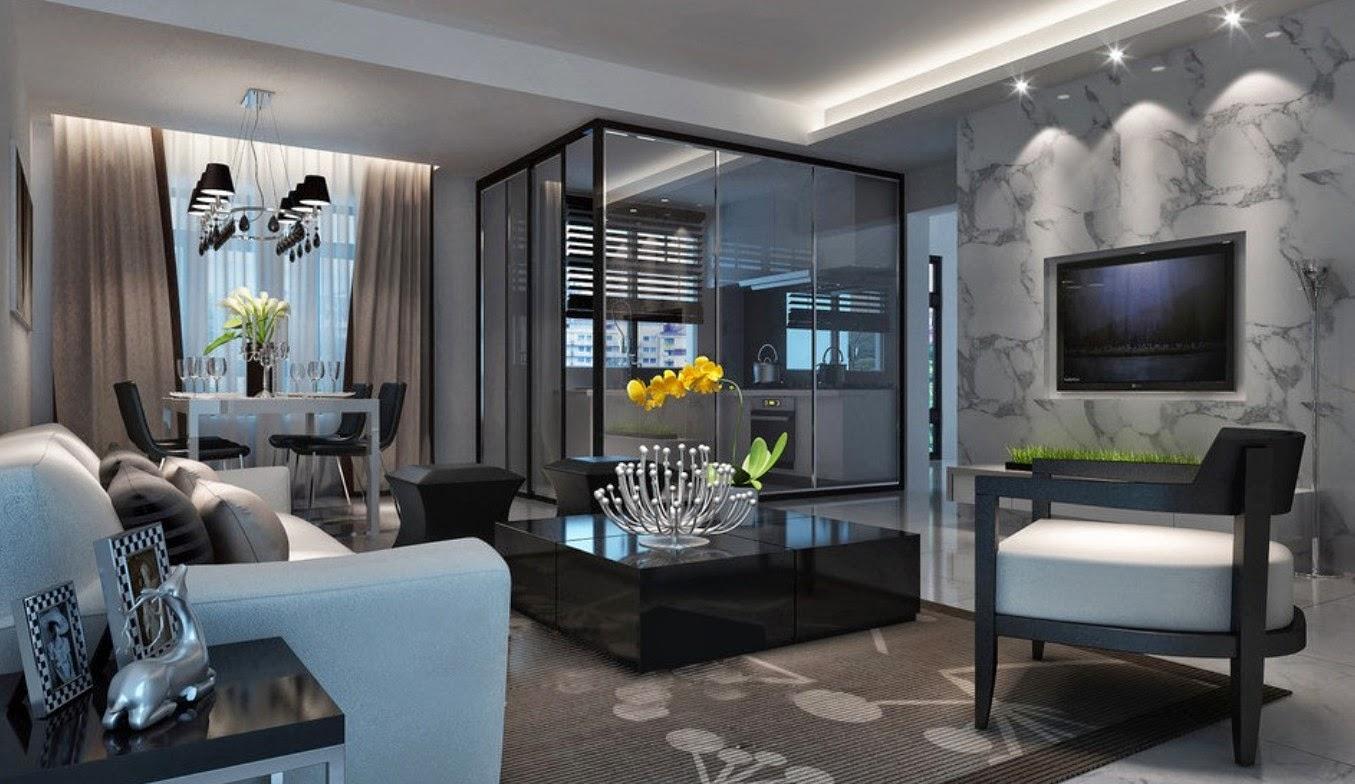 Модный интерьер квартиры 2017