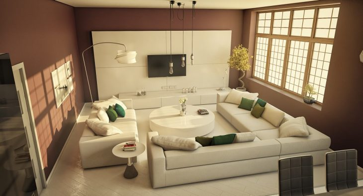 Современный интерьер квартиры 2018 - 75 фото идей