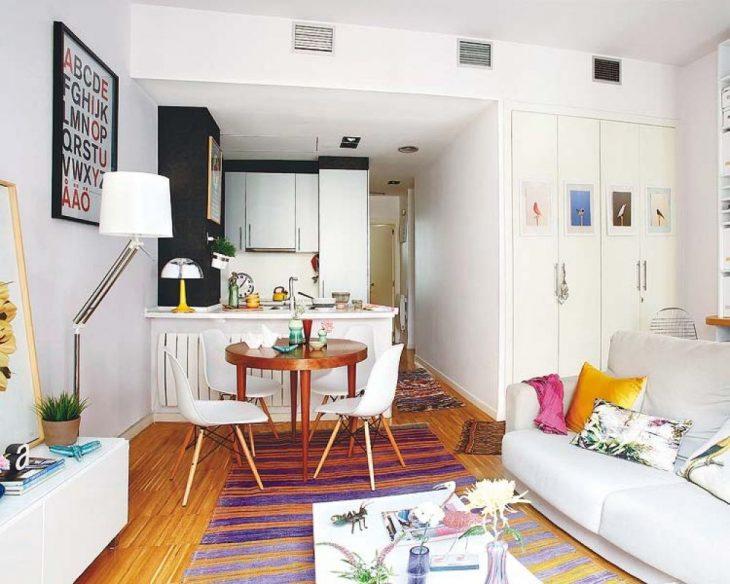 современный интерьер маленьких квартир