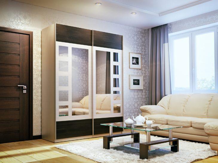 интерьер шкаф купе в квартире